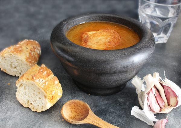 Receta sopa castellana