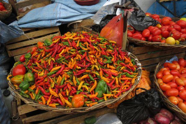 Chiles picantes de Bolivia