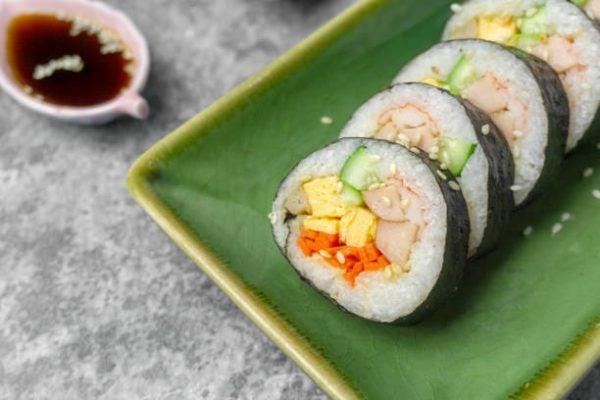 Recetas coreanas para hacer en casa Gimbap