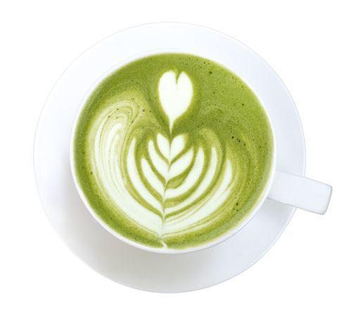 Café con té verde