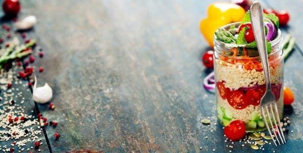 Recetas light ensalada light quinoa
