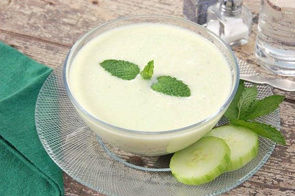 Recetas para tomar colageno crema patata pepino