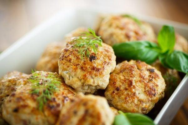 Recetas sin azucar ni carbohidratos para cenar hamburguesas pavo