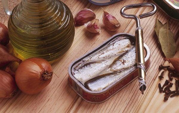 Recetas sin azucar ni carbohidratos para cenar sardinas aceite
