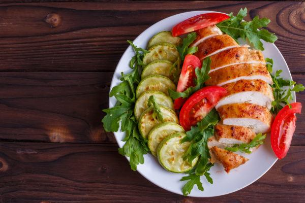 Recetas sin azucar ni carbohidratos para comer pechuga pollo