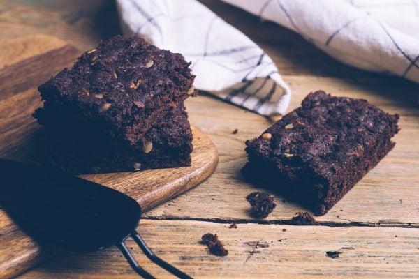 Recetas sin azucar ni carbohidratos para desayunar brownie