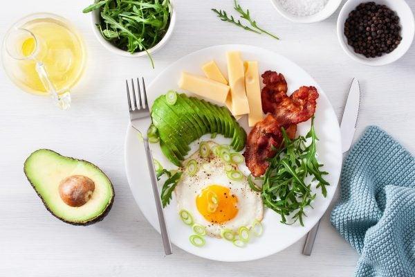 Recetas sin azucar ni carbohidratos para desayunar