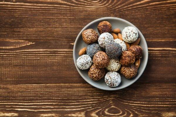 Recetas sin azucar ni carbohidratos para desayunar trufas