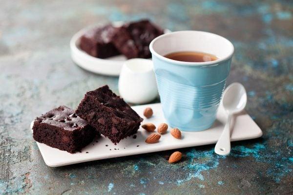 Recetas sin azucar ni carbohidratos para merendar brownie keto