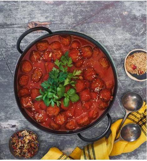 Recetas soja albondigas tomate