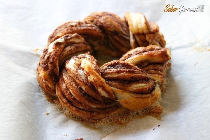 rosca de nutella