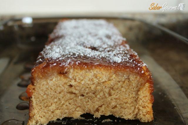 tarta de coco y galletas