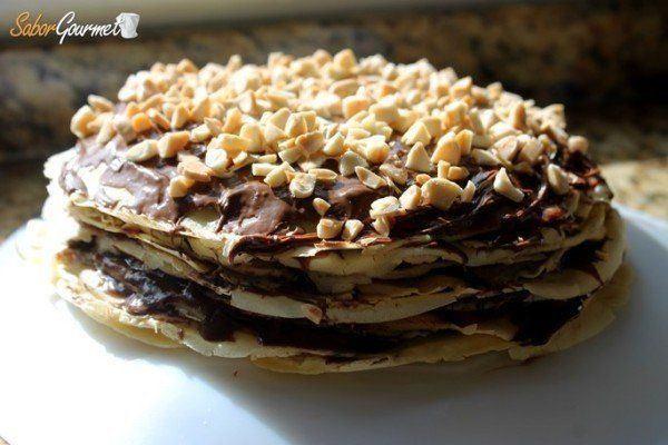 tarta-de-crepes-con-nutella