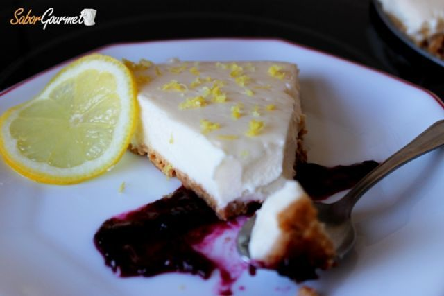 tarta queso limon