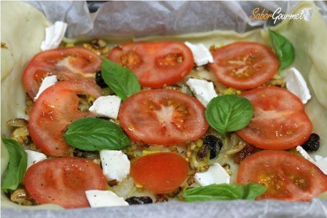tarta tomates