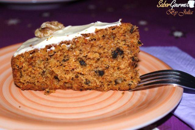 Tarta De Zanahoria Saborgourmet Com Galletas estilo pastel de zanahoria. tarta de zanahoria saborgourmet com