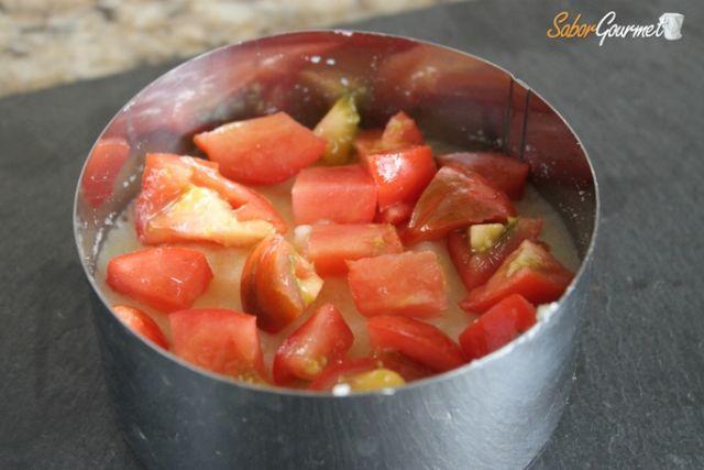 timbal patata tomate
