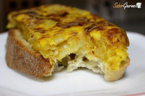 tortilla cebolla confitada