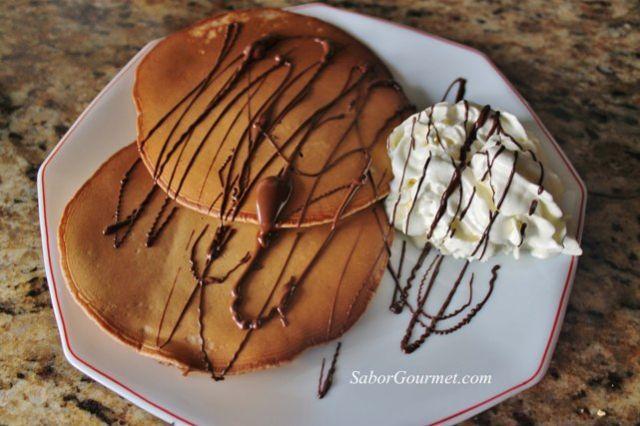 tortitasde chocolate con nata