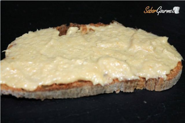 tosta brandada bacalao