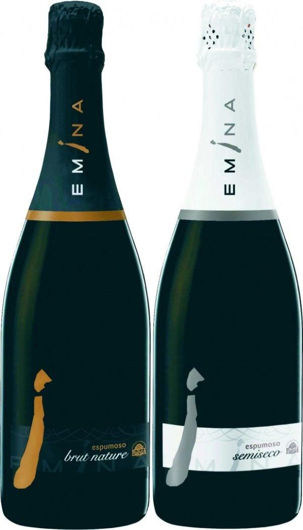 vinos-espumantes-y-champagne-para-navidad-2015-Vino Emina Brut Nature