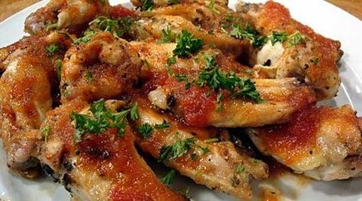 Alitas a la barbacoa for Maneras de preparar pollo
