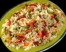 Recetas de arroz | Arroz con vegetales