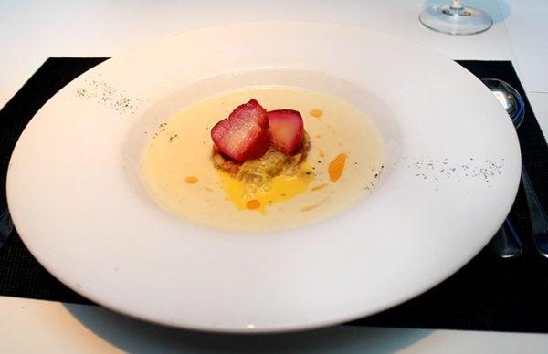 Crema-apio-vieras-restaurante-hilton