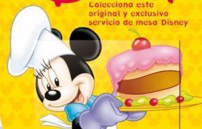 Colecciona la vajilla Disney