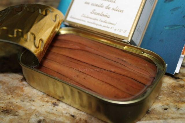 Filetes de Anchoas Conservas Juanjo