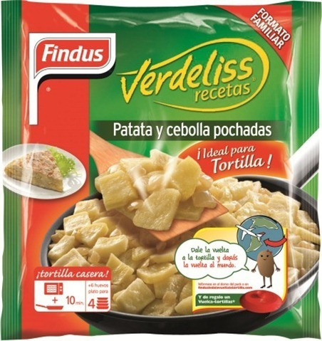 Findus verdeliss patata y cebolla pochadas