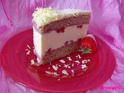Tiramisú chocolate blanco fresas 2 Driwrgy