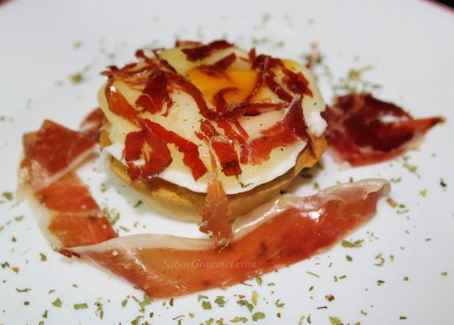 Un barja con jam n for Cenas faciles y economicas