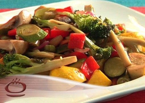 Vegetales Salteados con Curry