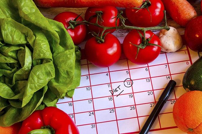Verduras para comenzar una dieta
