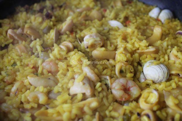 arroz con chipirones