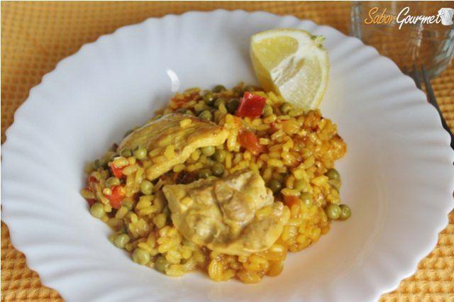Cocinar Arroz Con Pollo | Como Hacer Arroz Con Pollo Saborgourmet Com