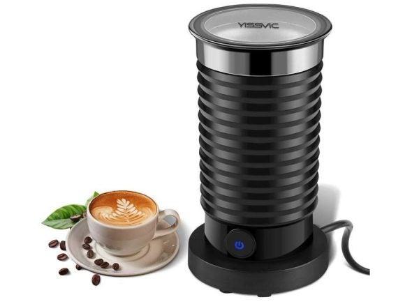 Batidora y espumadora de leche automática YISSVIC
