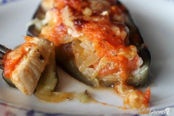 Berenjenas rellenas for Como cocinar la berenjena