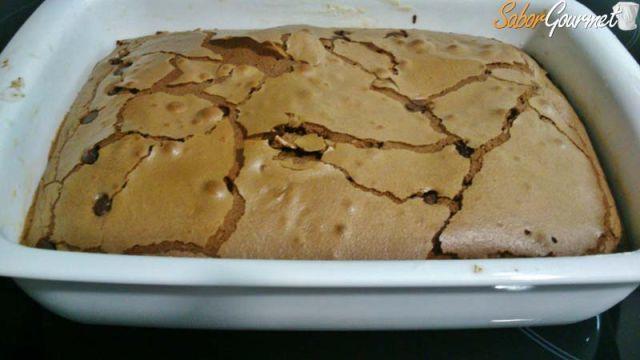 brownie con pepitas de chocolate