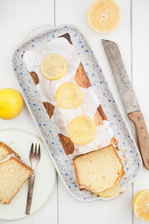 Budin de limon glaseado preparacion