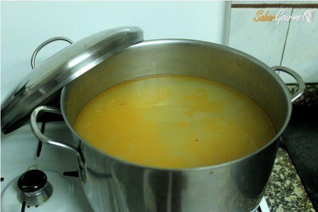caldo para sopa