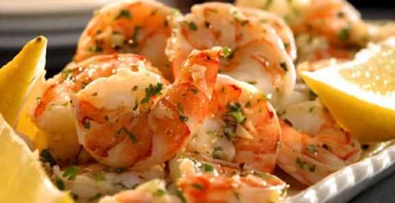 receta mariscos al ajillo