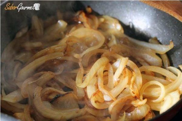 caramelizar cebolla