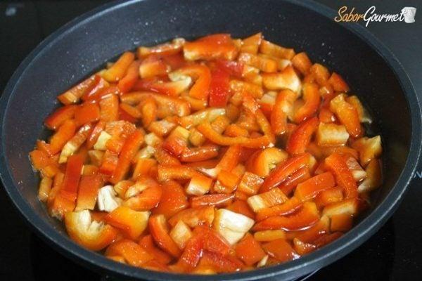 caramelizar-pimientos