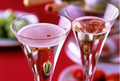 cazuela de champaña