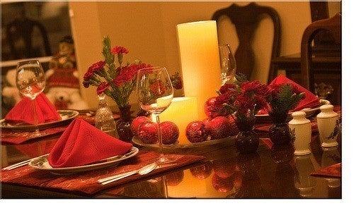 Centros de mesa navide os for Centros de mesa para restaurantes