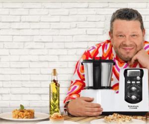 Alberto Chicote presenta el robot de cocina Mycook de Taurus