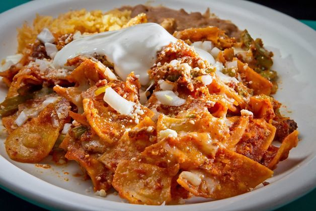 chilaquiles chilaquiles with poached eggs and black beans chilaquiles ...