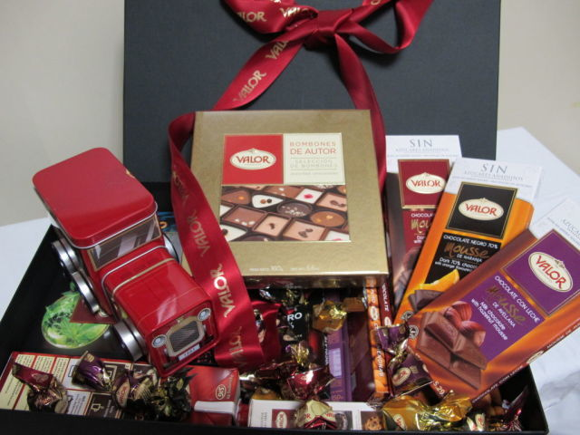 chocolates valor concurso
